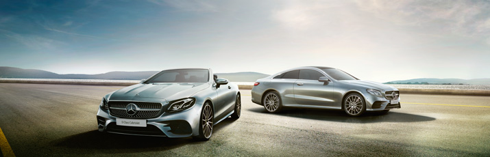 All new E-Class Coupé and Cabriolet