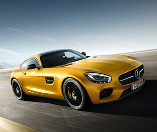 The Mercedes-AMG GT