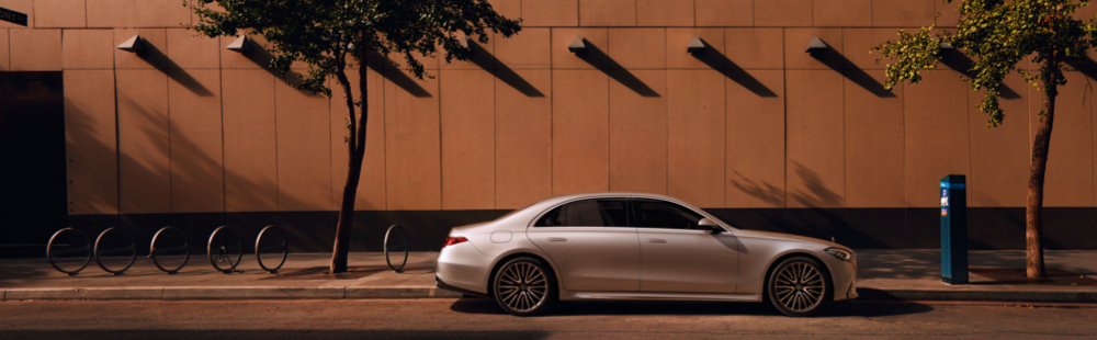 The new S-Class Saloon.
